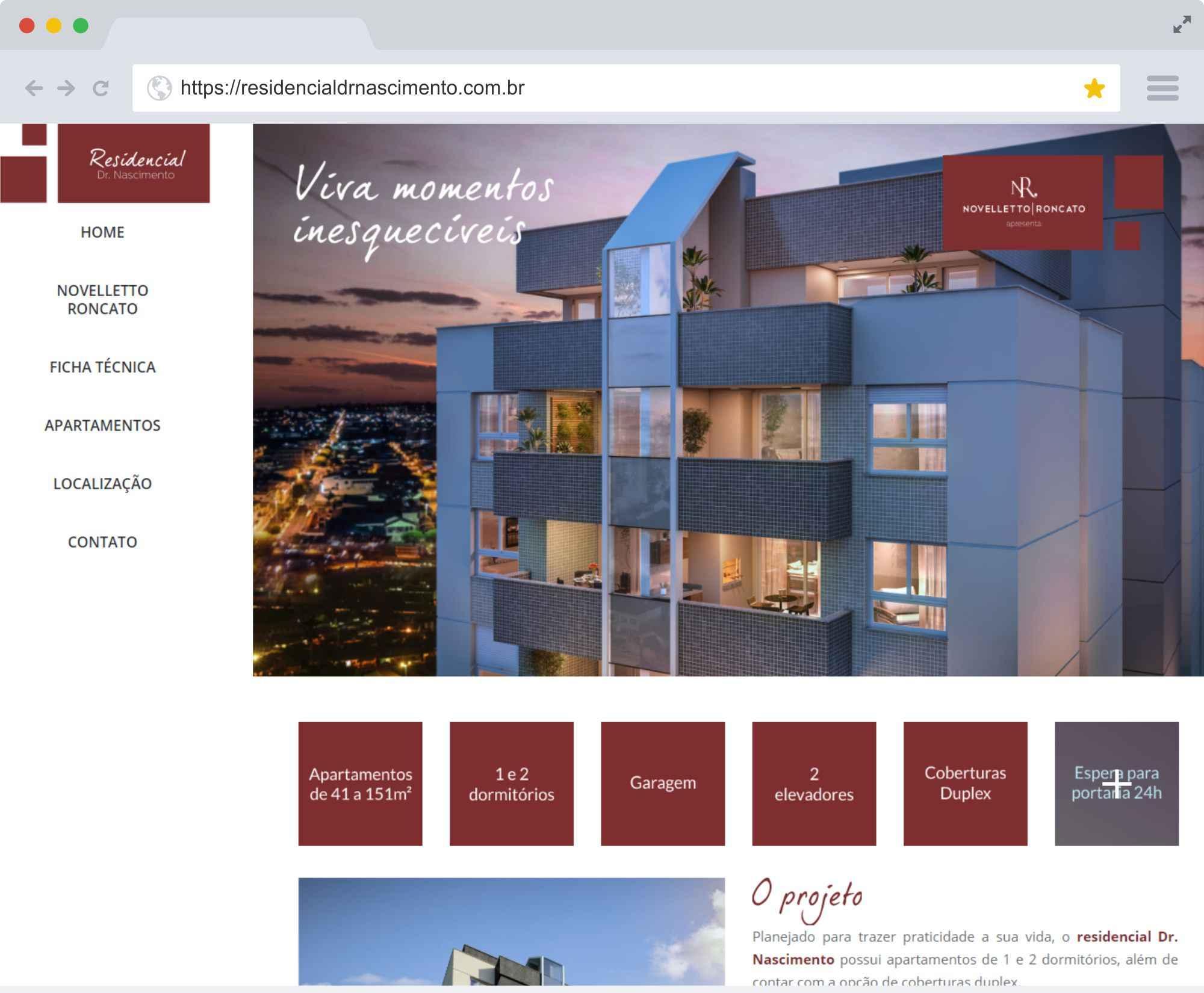 residencialdrnascimento.com.br