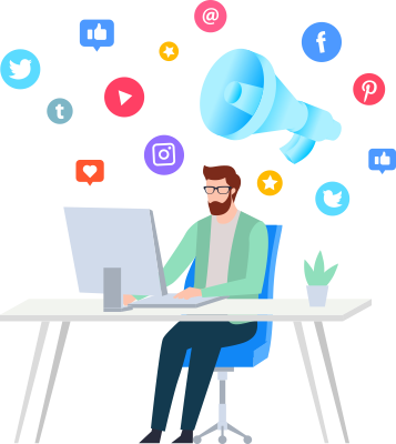 Redes sociais Agência Mi Digital